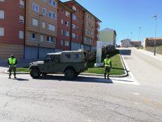 El ejército actúa en Ólvega contra el Covid 19
