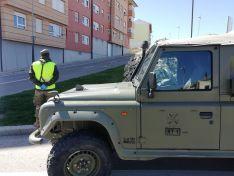 Foto 3 - El ejército actúa en Ólvega contra el Covid 19