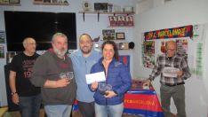 Foto 4 - Adolfo Marina y Ángel  Salvador ganan el guiñote de la Peña Barcelonista