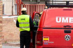 La Ume realiza tareas de desinfección en Soria.