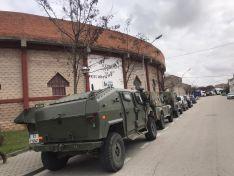 El Regimiento de Ingenieros durante su estancia en Soria.