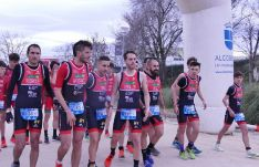 Equipos femenino y masculino de Triatlón Soriano