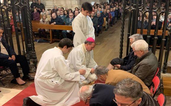 Una celebración eucarística en la Diócesis.