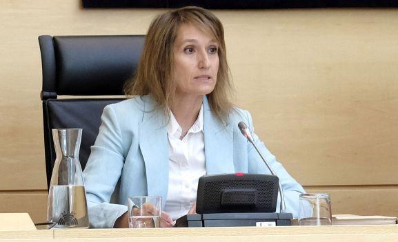 Las soriana Rocío Lucas, consejera de Educación. /SN