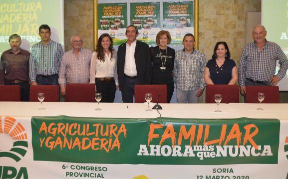Nueva ejecutiva de UPA Soria este jueves.