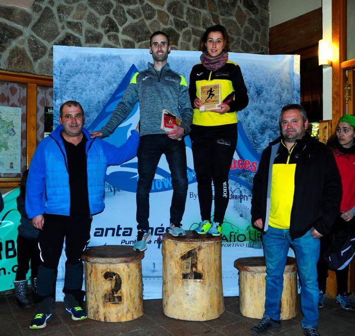 Una imagen de la entrega de trofeos. /