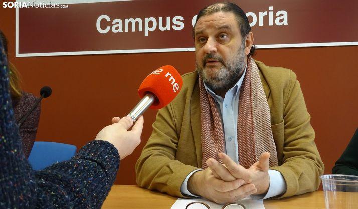 José Luis Ruiz, vicerrector del Campus, esta mañana de viernes. /SN