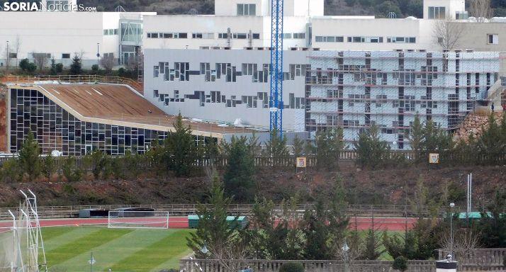 Una imagen del edificio esta tarde de viernes. /SN