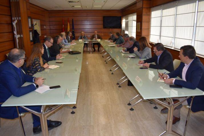 Reunión de la Junta con la industria agroalimentaria