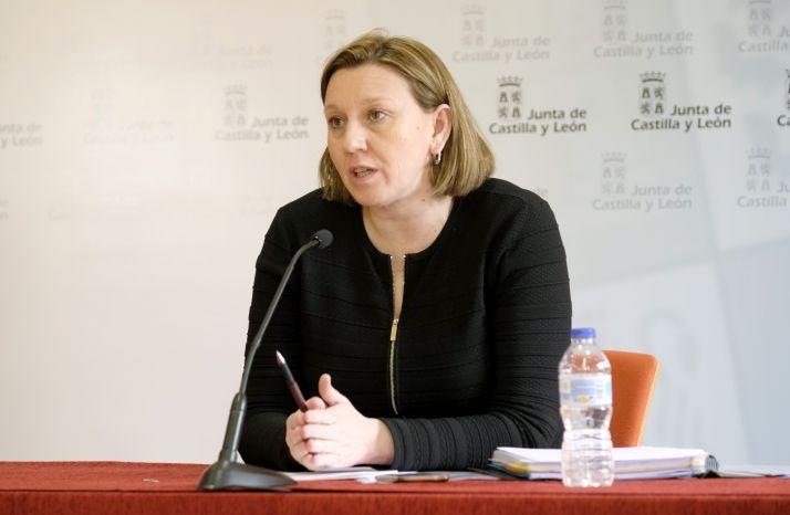 Consejera de Familia e Igualdad de Oportunidades, Isabel Blanco.