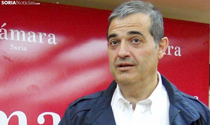 Alberto Santamaría, presidente de la institución cameral. /SN