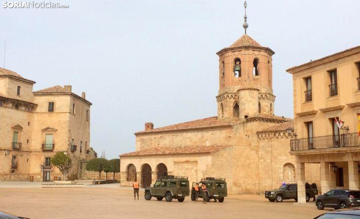 Las Fuerzas Armadas también estuvieron en la villa el pasado jueves 19. /SN