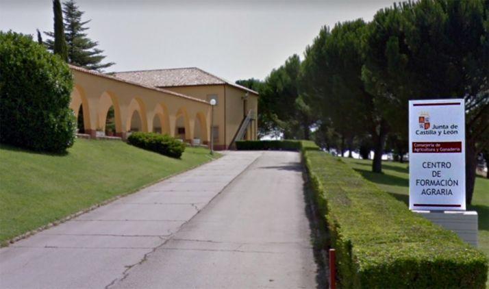Una imagen de la entrada al centro de FP. /GM