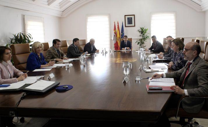 El Consejo de gobierno regional esta tarde de miércoles. /SN