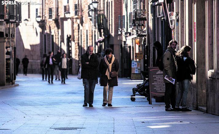 Imagen de archivo de la calle Mayor de El Burgo de Osma. /SN
