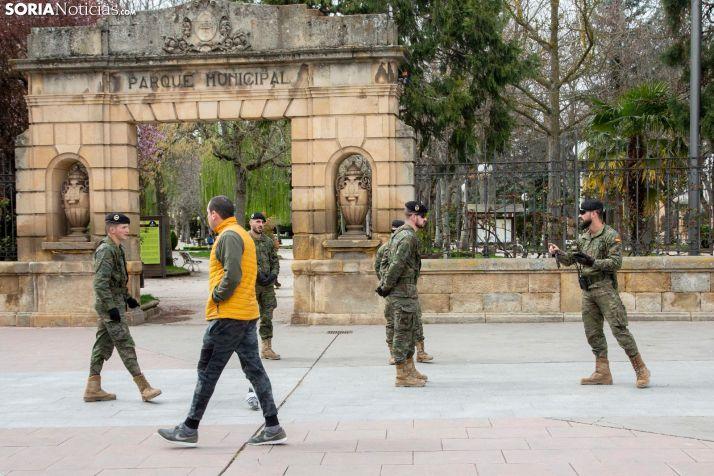 La Unidad Militar de Emergencia vendrá este finde a desinfectar Soria