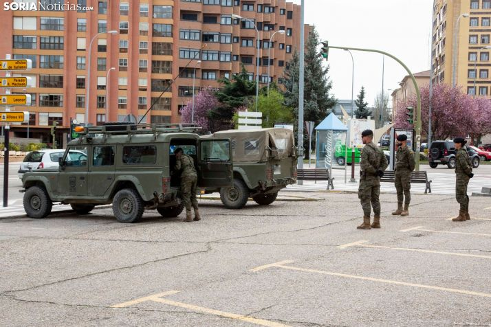 El Ejército de Tierra en Soria. /María Ferrer
