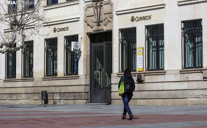 Oficina de Correos de Soria capital.