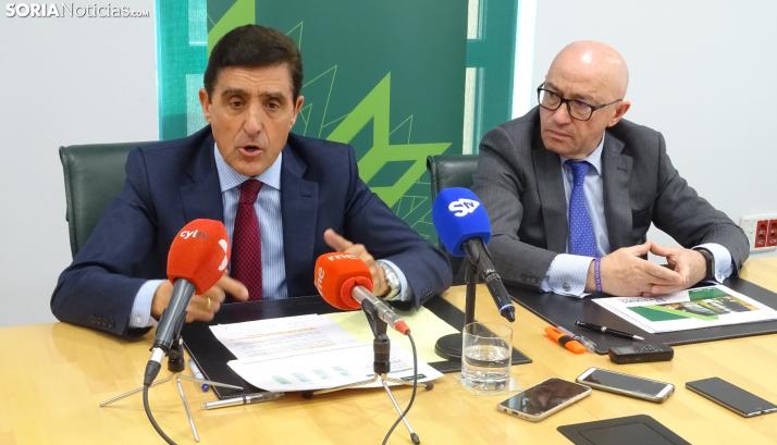 Barca y Martínez en rueda de prensa
