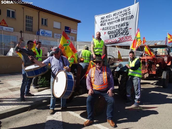 Foto 1 - El campo soriano promete seguir haciendo ruido si el Gobierno no actúa