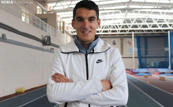 El atleta adnamantino Dani Mateo. /SN
