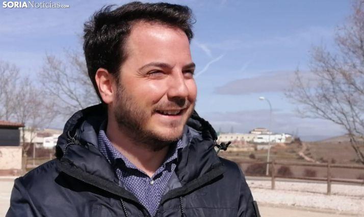 Éder García, concejal del área social, en una imagen de archivo. /SN