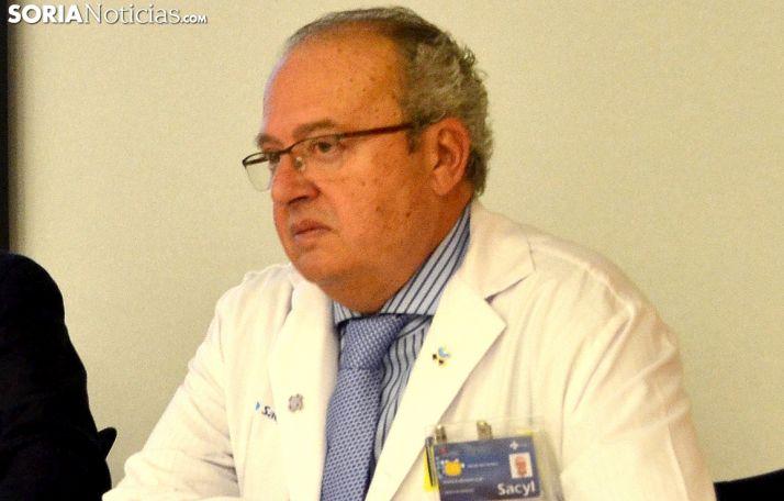 Enirque Delgado, gerente de Salud de Soria. /SN