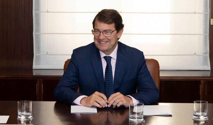 Fernández Mañueco en una imagen de archivo.