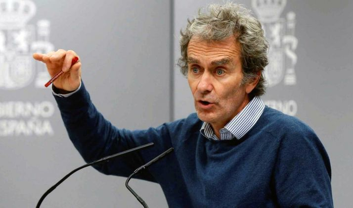 Fernando Simón, en una comparecencia pública. /tve