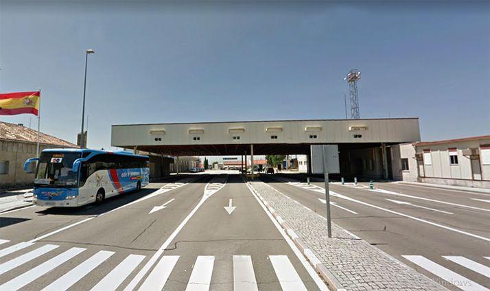 Paso fronterizo en Fuentes de Oñoro, en Salamanca. /GM