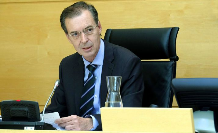 Germán Barrios, consejero de Empleo e Industria. /Jta.