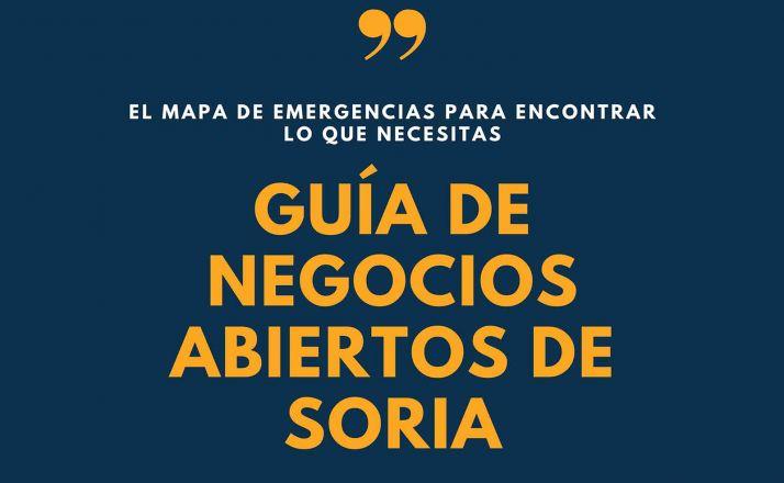 Foto 2 - La 'Guía de Comercios Abiertos de Soria': más de 80 negocios y nuevas secciones de mascotas, fisioterapia u ortopedia