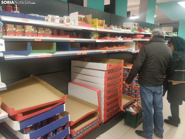 Supermercados sorianos hoy.