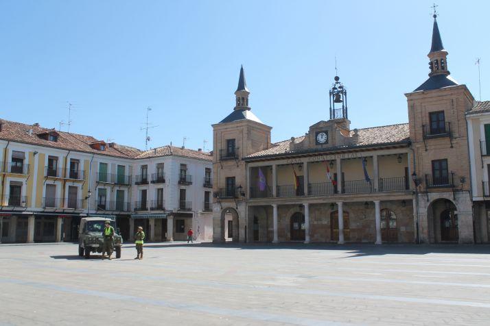 El RT-1 en El Burgo de Osma.