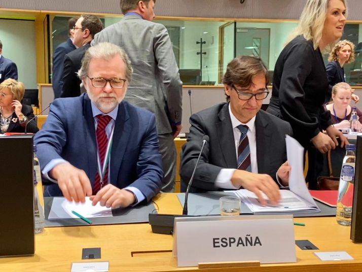 Salvador Illa participa en Bruselas en la reunión de ministros de Sanidad de la UE sobre coronavirus