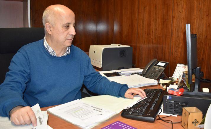 El olvegueño Francisco Javier Navarro Ganaza, diputado responsable de área. /Dip.