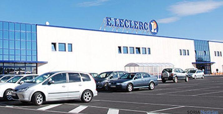 Supermercado E.Leclerc en Soria.