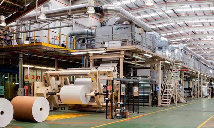 Una imagen de la factoría de Almazán.