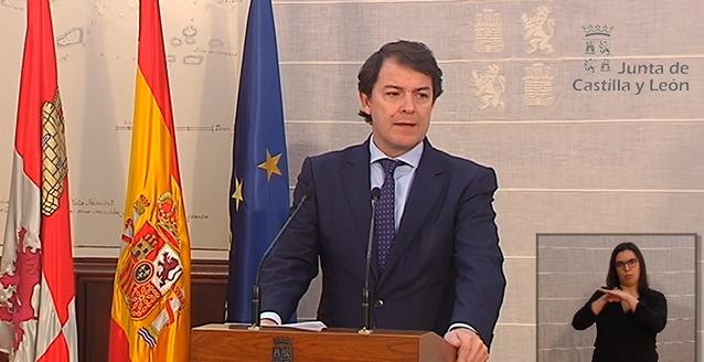 Alfonso Fernández Mañueco en una imágen de archivo.