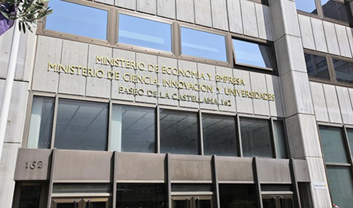 Sede ministerial en Madrid.
