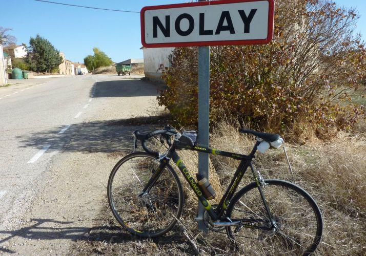 Entrada a Nolay.