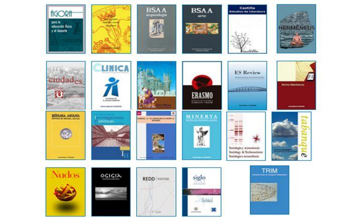 Foto 1 - La UVa publica en abierto una veintena de revistas editadas por los grupos de investigación y departamentos