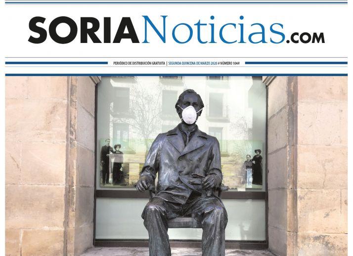 Portada del nº 104 de Soria Noticias.