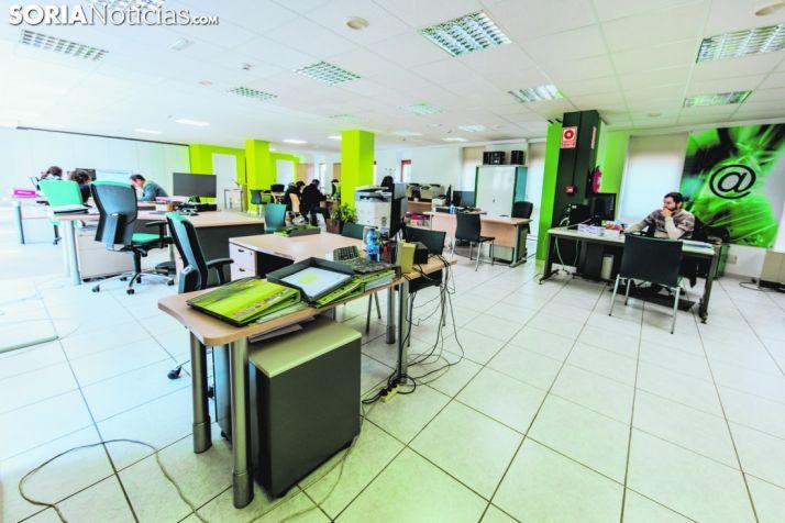 Oficina de la Fundación Soriactiva.