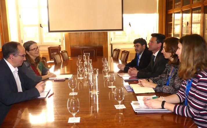 Una imagen de la reunión. /FOES