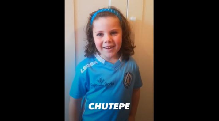 Imagen del vídeo compartido por el CD San José.
