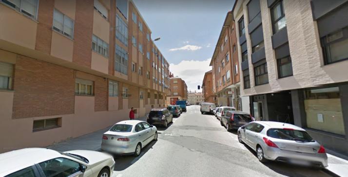 Calle Venerable Palafox de la capital.
