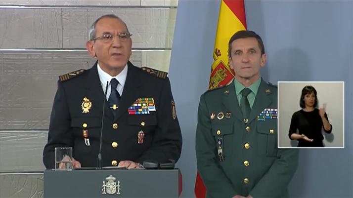 Jose Ángel González, DAO de la Policía Nacional.