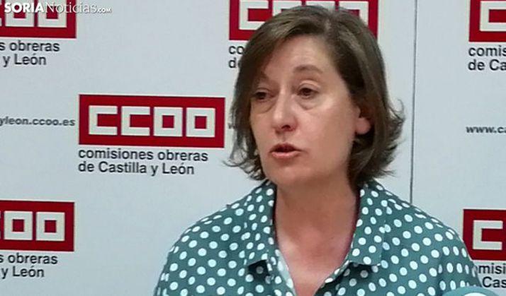 María Jesús Sotillos, de CCOO. /SN