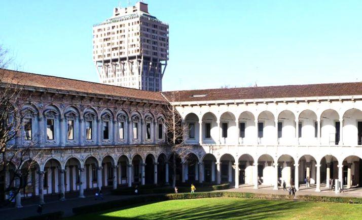 Una imagen de la Universidad de Milán.